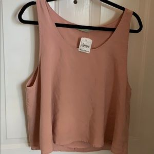 Haute Society cute pink crop top